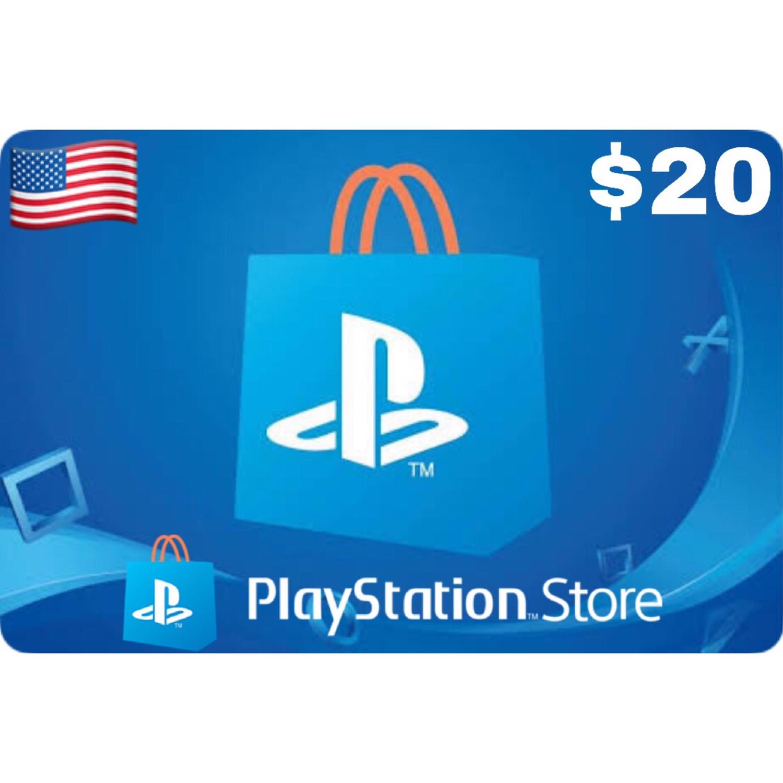 Playstation (PSN Card) USA $20