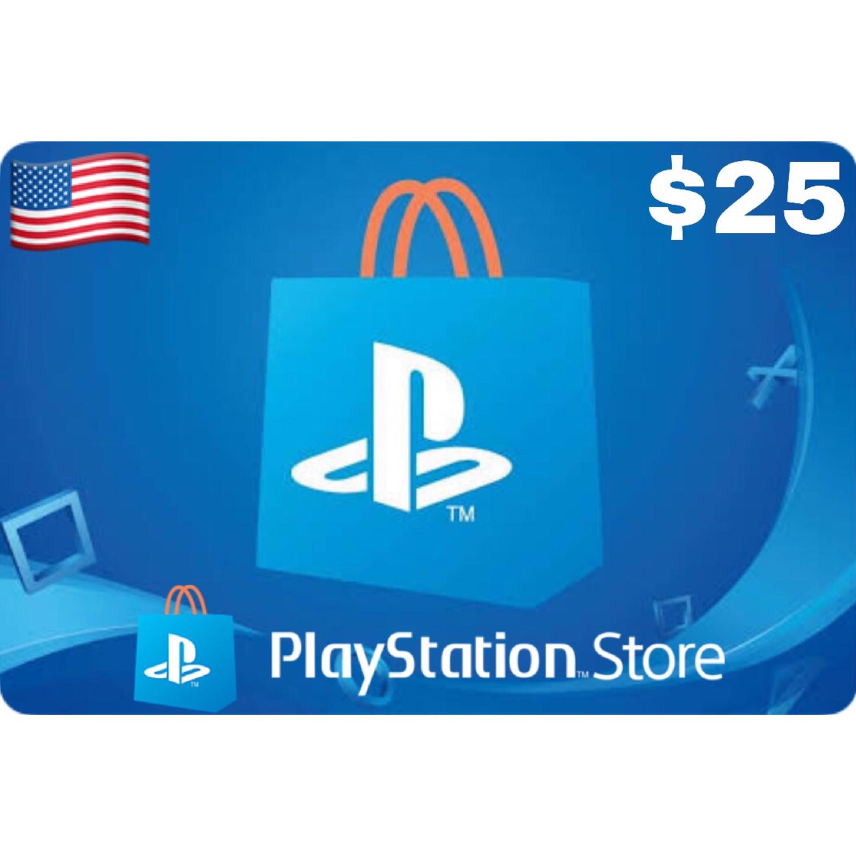 Playstation (PSN Card) USA $25