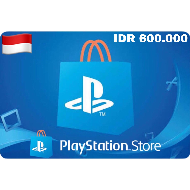 Playstation (PSN Card) Indonesia IDR 600,000
