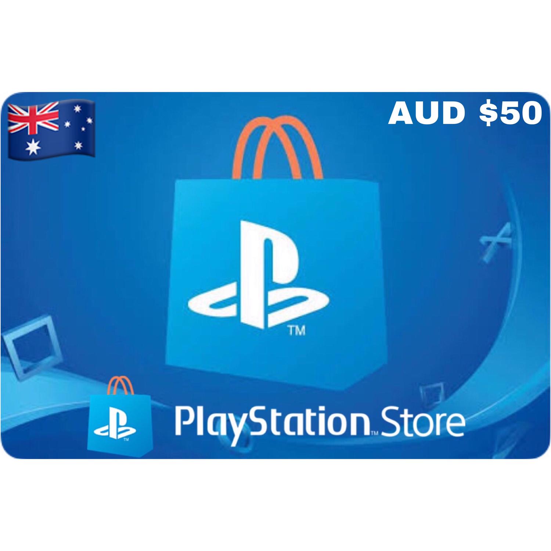 Playstation (PSN Card) Australia AUD $50