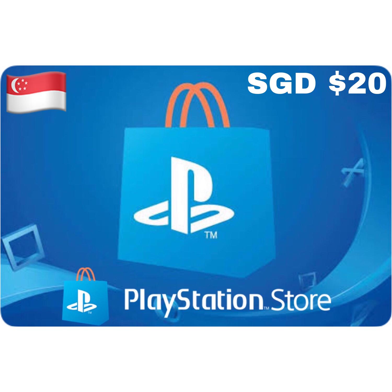 Playstation (PSN Card) SGD $20