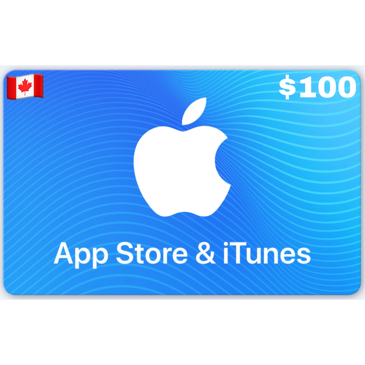 Apple iTunes Gift Card Canada $100