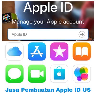 Jasa Create Apple ID US tanpa saldo