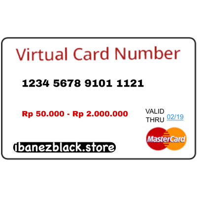 VCC Apple ID Indonesia IDR 50.000 - 2.000.000 (Masa Aktif 3 hari)