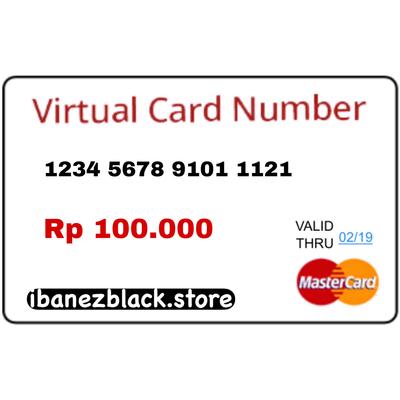 VCC Apple ID Indonesia IDR 100.000 (Masa Aktif 3 hari)