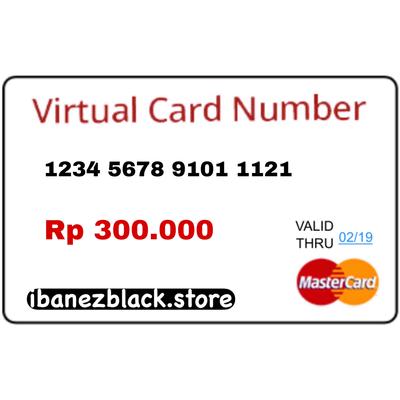 VCC Apple ID Indonesia IDR 300.000 (Masa Aktif 3 hari)