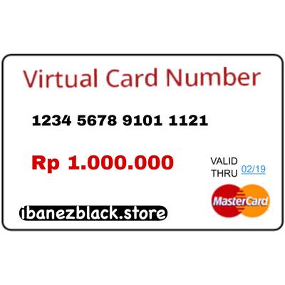 VCC Apple ID Indonesia IDR 1.000.000 (Masa Aktif 3 hari)