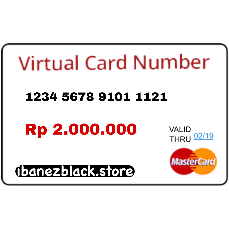 VCC Apple ID Indonesia IDR 2.000.000 (Masa Aktif 3 hari)