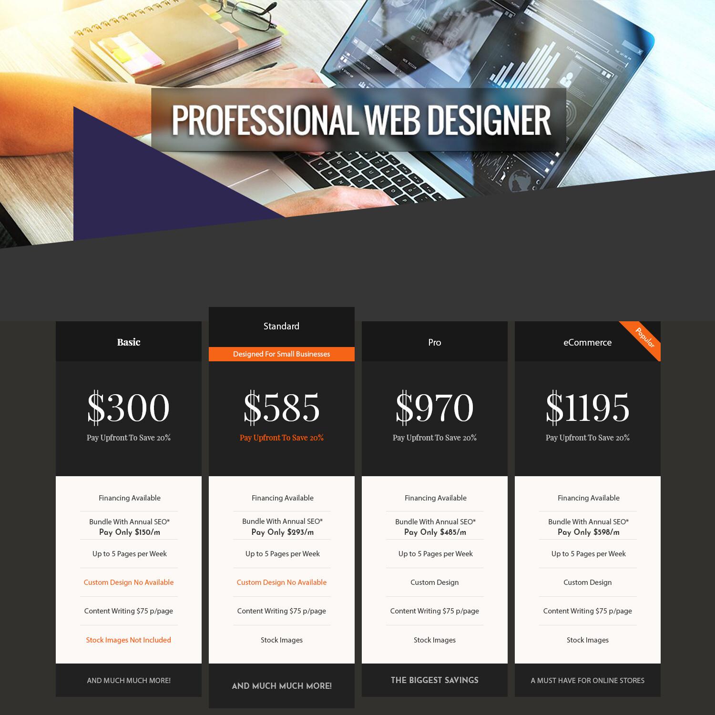 Designer Service Basic Package