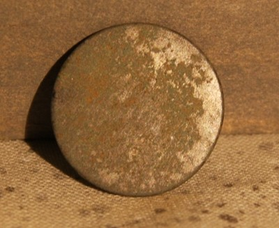2/19 - PRICE JUST REDUCED 33%  - THE BATTLE OF GETTYSBURG / AREA BEHIND THE ROUND TOPS - Coin / Flat Coat Button