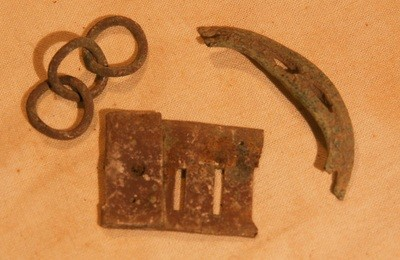 JUST ADDED ON 5/9 - THE BATTLE OF ANTIETAM / MILLER'S CORNFIELD - 3 Relics - Found between 1975 and 1979