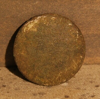 3/3 - PRICE REDUCED 30% - THE BATTLE OF GETTYSBURG / AREA BEHIND THE ROUND TOPS - Flat / Coin Coat Button
