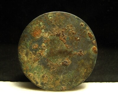 JUST ADDED ON 1/15 - THE BATTLE OF ANTIETAM / DUNKER CHURCH - Very Large Coat-Sized Flat or Coin Button