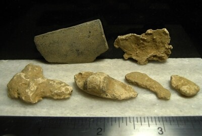JUST ADDED ON 2/12 - THE BATTLE OF MONOCACY - 6 Relics found on April 7, 1967
