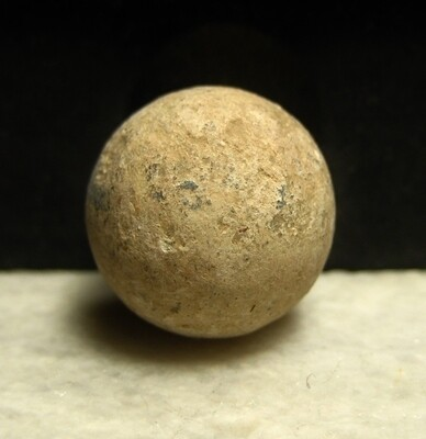 JUST ADDED ON 4/15 - GETTYSBURG - LITTLE ROUND TOP / BIG ROUND TOP SADDLE / 20TH MAINE - ROSENSTEEL FAMILY - .69 Caliber Musket Ball