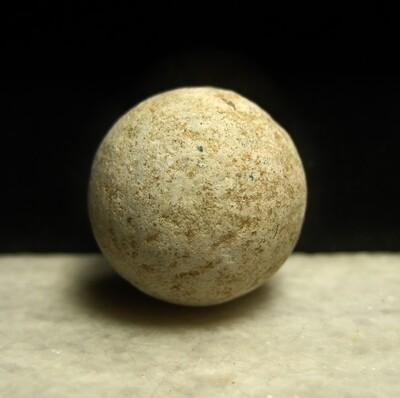 JUST ADDED ON 4/22 - GETTYSBURG - LITTLE ROUND TOP / BIG ROUND TOP SADDLE / 20TH MAINE - ROSENSTEEL FAMILY -Musket Ball