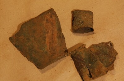 JUST ADDED ON 5/27 - THE BATTLE OF ANTIETAM / MILLER'S CORNFIELD - Three Brass relics - Found between 1975 and 1979