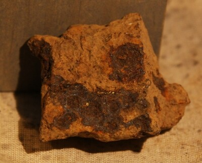 JUST ADDED ON 5/27 - GETTYSBURG - DEVIL'S DEN - ROSENSTEEL FAMILY - Small Fragment of an Artillery Shell