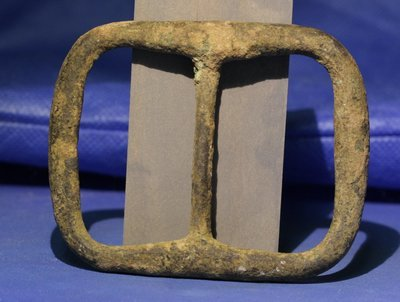 JUST ADDED ON 2/16 - SIEGE OF PETERSBURG - Heavy Brass Buckle - Probably a Confederate Belt Buckle