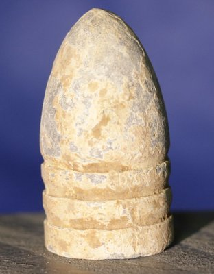 CLEARANCE - GETTYSBURG / THE ROSENSTEEL COLLECTION - .58 Caliber Bullet - found by John Cullison 1930-1960