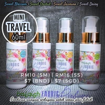 Balqish Fabric Perfume - Mini Travel