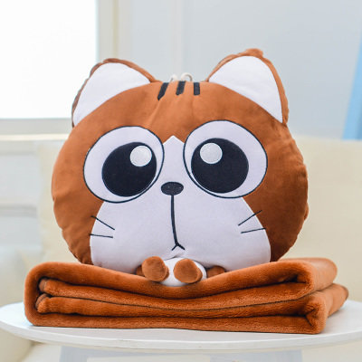 Meow Choc Pillow Blanket 2 in 1 [Pre-Order]