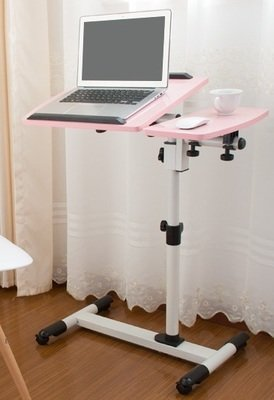 Mobile Laptop Desk - Solid Pink