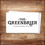 The Greenbrier Gift Card