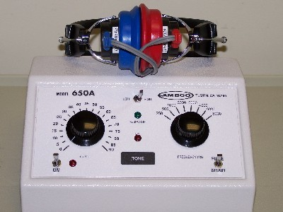 Ambco 650A Pure Tone Audiometer - 5 Year Warranty