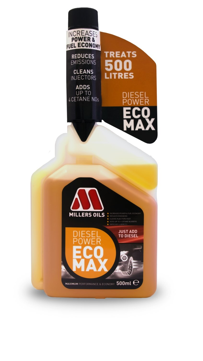 MIllers Oils Diesel Power ECOMAX multi-dose
