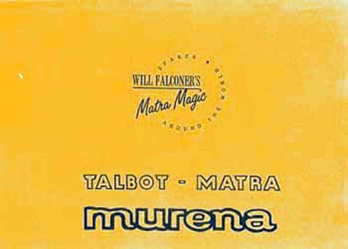 Parts Manual Murena