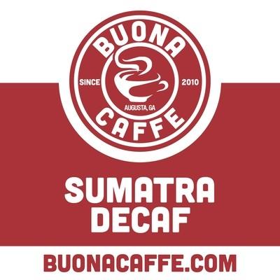 Sumatra Decaf 12 oz. (Dark Roast)