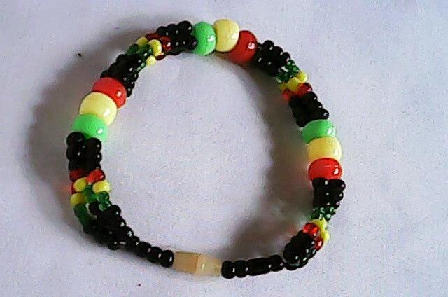 Multicolor Masai/Maasai open bead bracelet bracelet(OB001)