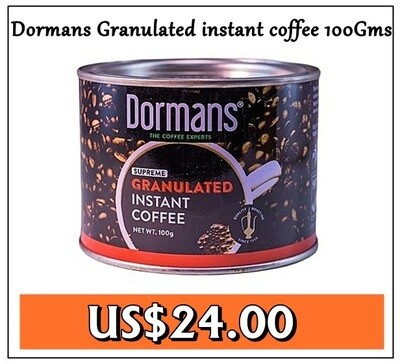 Dormans Granulated instant coffee from Kenya-100GMS