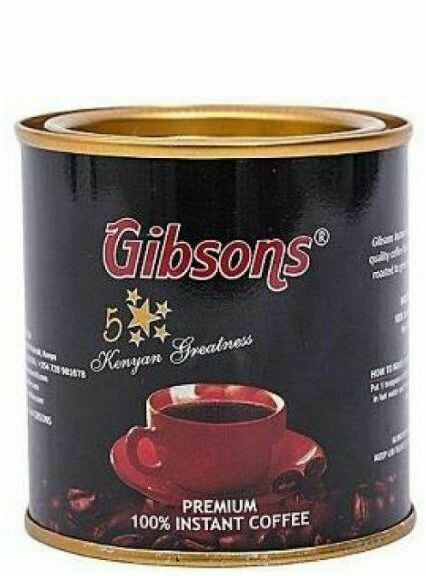 Gibsons instant coffee from Kenya-100GMS