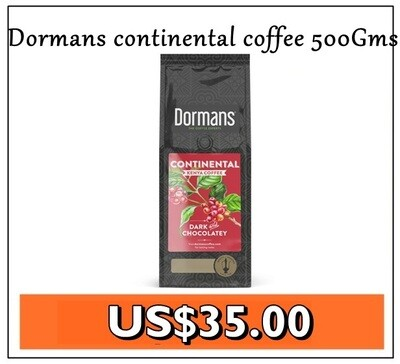 Dormans continentals coffee from Kenya 500Gms