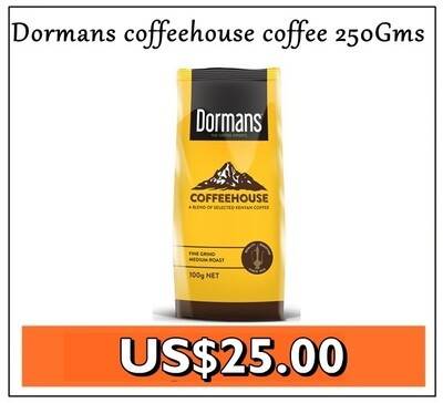 Dormans coffeehouse coffee 250gms