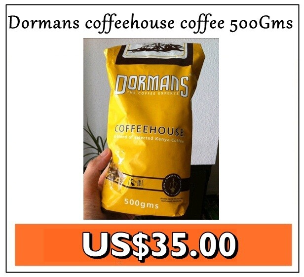Dormans ground Coffeehouse coffee from Kenya-500GMS