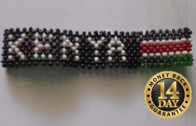 Kenya bracelet-Masai multibeads bracelet