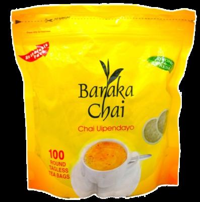 Baraka Chai round tea bags from Kenya-100TBS
