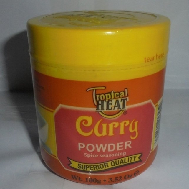 Spices-tropical Heat curry powder 100gms/3.52oz From Kenya