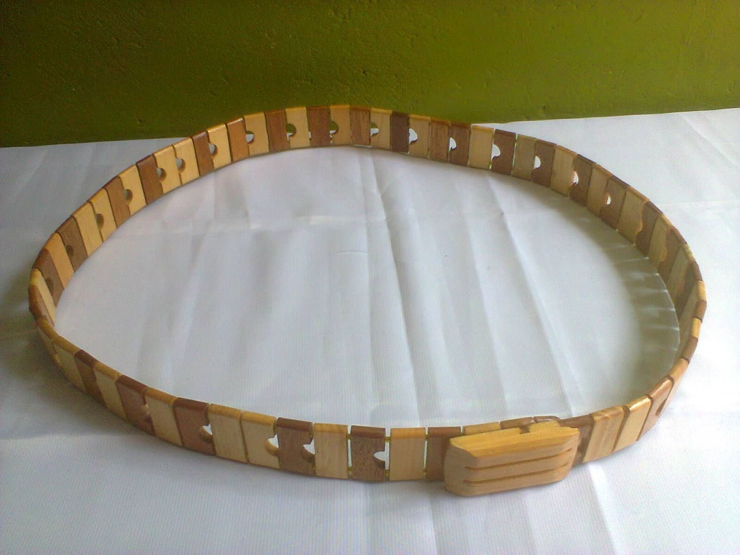 Kenya Masai Maasai wood and beads belt(UNISEX)