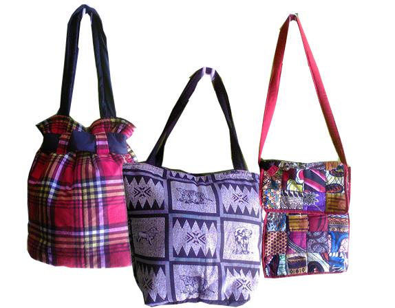 African tribal Leso Khanga laptop/Shopping bag Unisex