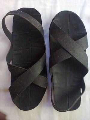 Masai Moran warrior tire sandals.Extremely durable