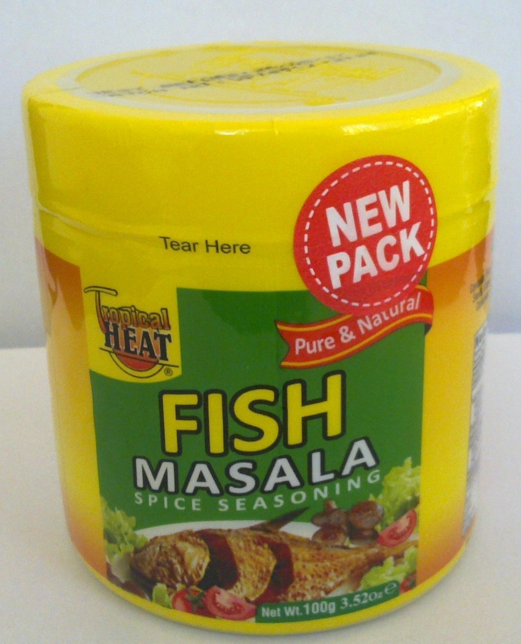 Tropical heat fish Masala spices seasonings from Kenya-100Gms