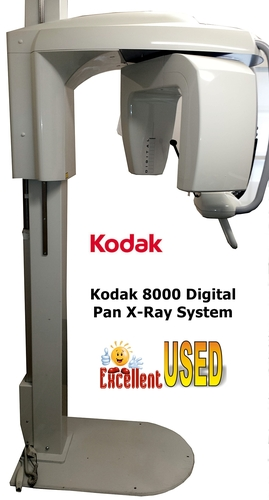 Kodak 8000 Digital Panoramic X-Ray System (2007) *Used