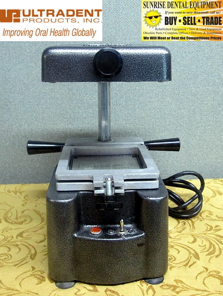Ultradent Ultra Vac - Vacuum Press Former *Excellent Used Condition