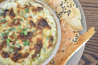 Blue Crab and Spinach Dip