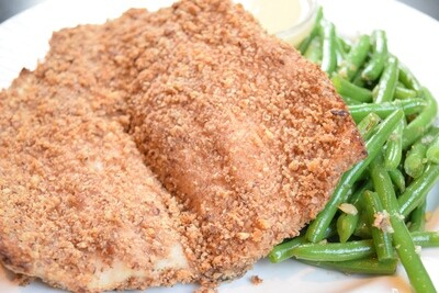 GVG Baked Pecan Crusted Trout