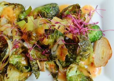 PWB Crispy Brussels Sprouts